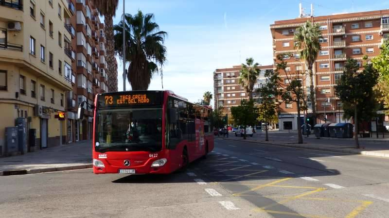 Autobús en València. EPDA.