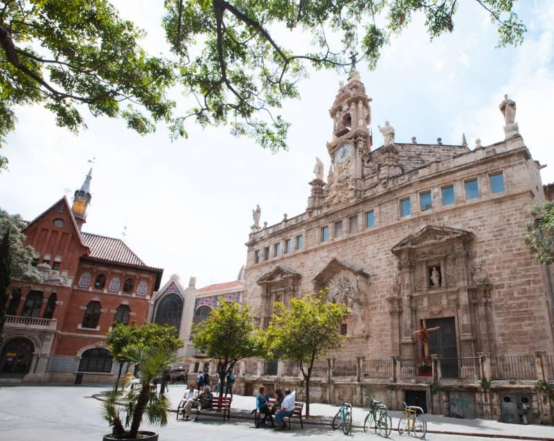 restauración capilla Iglesia Jesuitas./ EPDA