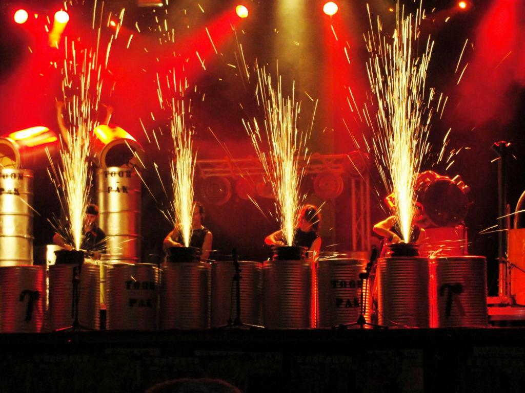Toom-Pack, en plena actuación (Foto: Toom-Pack)
