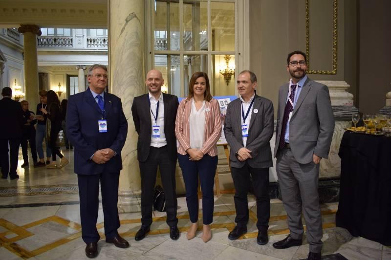 Sandra Gómez recibe al director del grupo Air France-KLM para España y Portugal