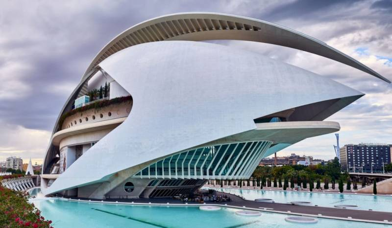 Imagen de archivo Palau de les Arts./ EPDA