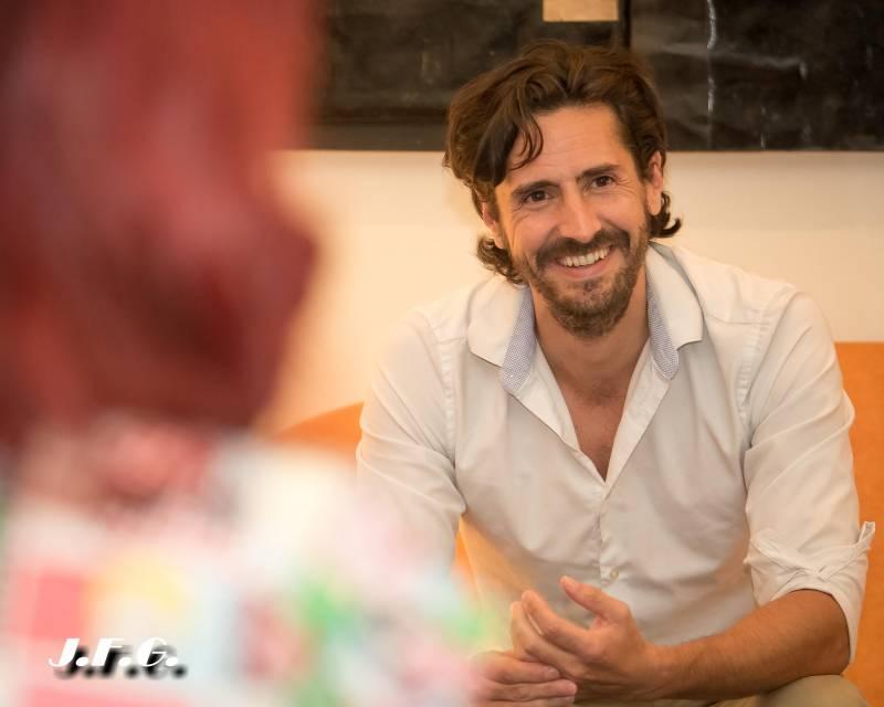 Entrevista a Juan Diego Botto en la Fundación Cañada Blanch